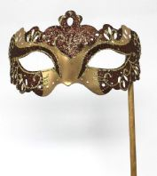 Brown and Gold Mask
